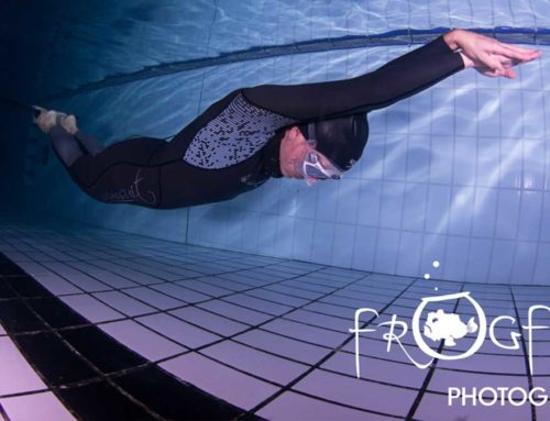 The UK Female Dynamic With Fins (DYN) Freediving record is broken.