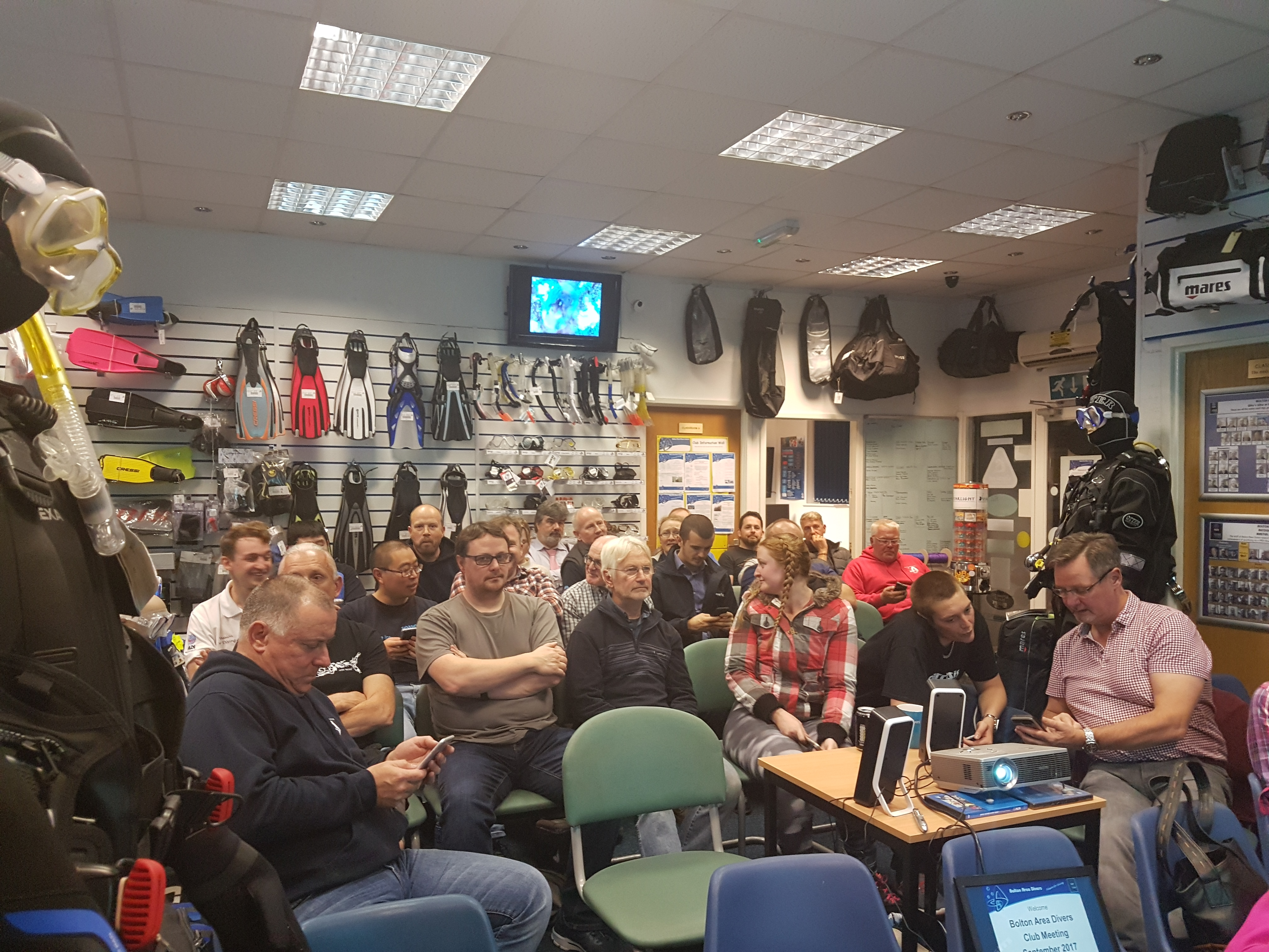 Freediving presentation