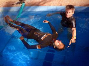 Static Freediving Pim Vermeulan