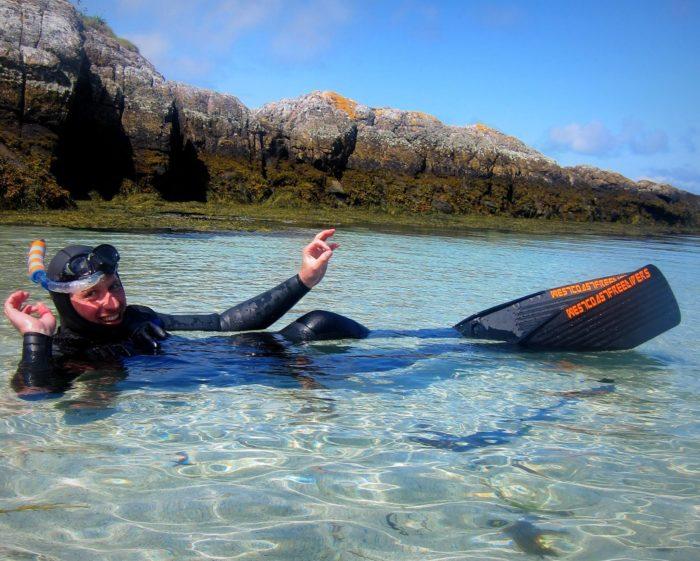 Freediving Oban