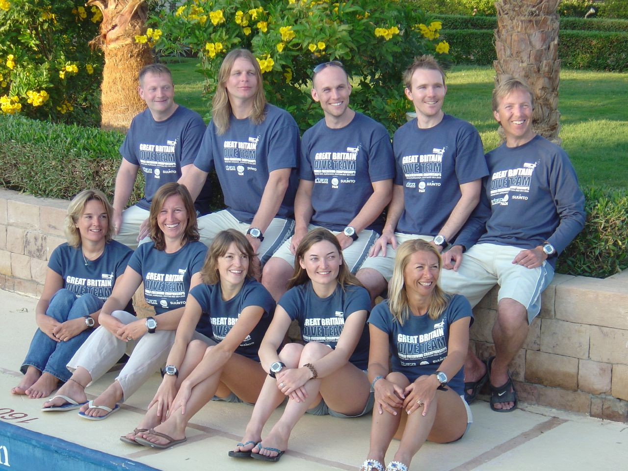 Steve Millard UK Freediving team